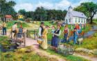 The Country Church - 1000pc Jigsaw Puzzle By Sunsout