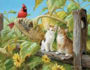 Harvest Time - 1000pc Large Format Jigsaw Puzzle by Sunsout