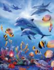 Seahorse Kingdom - 1000pc Large Format Jigsaw Puzzle by Sunsout