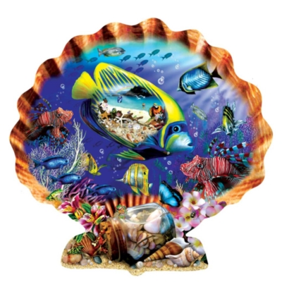 Shaped Jigsaw Puzzle - Souvenirs of the Sea