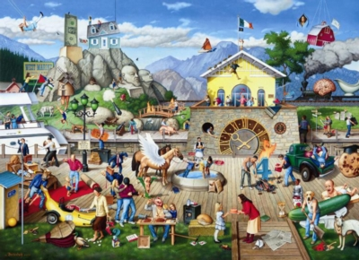 Proverbidioms IV: Who Rocked the Boat - 1500pc Jigsaw Puzzle By Sunsout