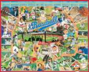Baseball Greats - 1000pc Jigsaw Puzzle by White Mountain
