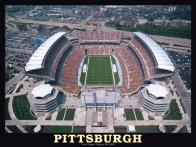 Pittsburgh Steelers Stadium - 550pc Jigsaw Puzzle by White Mountain