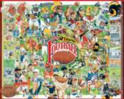 Football History - 1000pc Jigsaw Puzzle by White Mountain