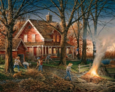 Jigsaw Puzzles - Autumn Evening