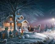 Winter Wonderland - 1000pc Jigsaw Puzzle by White Mountain