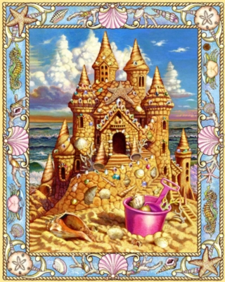 Sand Castle Dream - 1000pc Jigsaw Puzzle by White Mountain