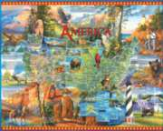 National Parks - 1000pc Jigsaw Puzzle by White Mountain