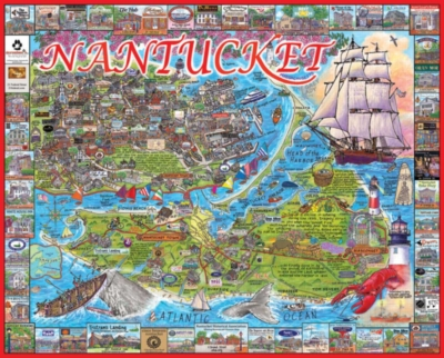 Nantucket, MA - 1000pc Jigsaw Puzzle by White Mountain
