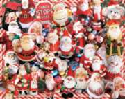 Crazy Santas - 1000pc Jigsaw Puzzle by White Mountain
