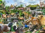 What a Zoo! - 300pc Large Format Jigsaw Puzzle by White Mountain