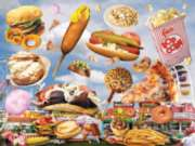 Fair Foods - 550pc Jigsaw Puzzle by White Mountain