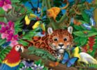 Rainforest Friends - 300pc Jigsaw Puzzle by White Mountain