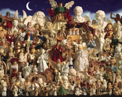 Heavenly Angels - 1000pc Jigsaw Puzzle by White Mountain