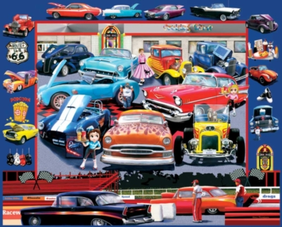 Oldies But Goodies - 1000pc Jigsaw Puzzle by White Mountain