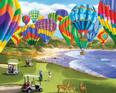 Soaring Colors - 1000pc Jigsaw Puzzle by White Mountain