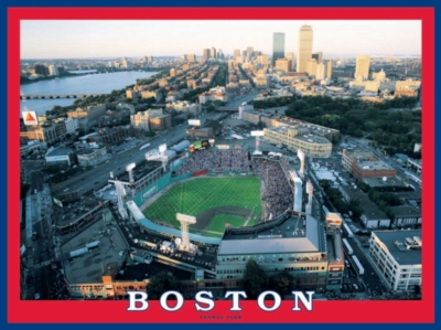 Fenway Park, Boston - 550pc Jigsaw Puzzle by White Mountain