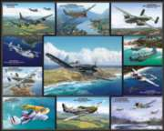 Airplanes of World War II - 1000pc Jigsaw Puzzle by White Mountain