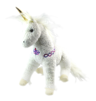 Sunbeam - 12'' Unicorn by Douglas Cuddle Toys