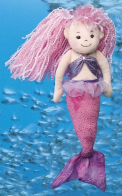 Large Mermaid - 16'' Mermaid By Douglas Cuddle Toys
