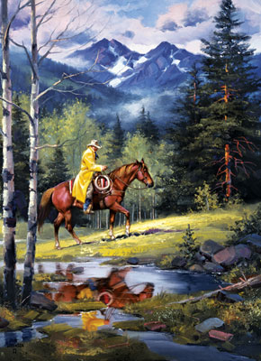 Western Spirit: Springtime in the High Country - 1000pc Jigsaw Puzzle by Masterpieces
