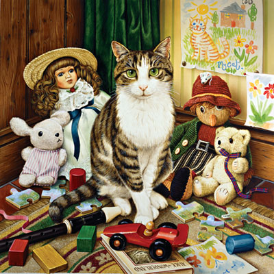 Catology: Pollyanna - 1000pc Jigsaw Puzzle by Masterpieces