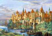 Hard Jigsaw Puzzles - City of Rothenburg