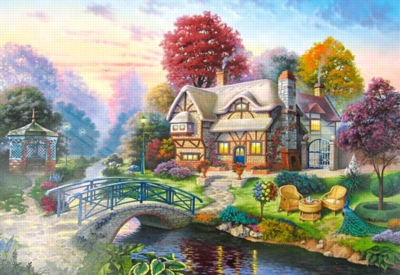 Autumn Scenery - 3000pc Jigsaw Puzzle By Castorland