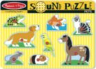 Pets - 8pc Interactive Sound Children's Puzzle By Melissa & Doug