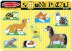 Pets - 8pc Interactive Sound Children's Puzzle By Melissa & Doug