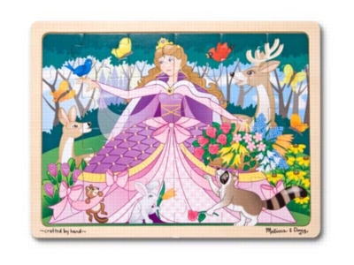Woodland Princess - 24pc Jigsaw Puzzle By Melissa & Doug