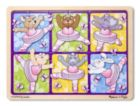 Ballerinas & Butterflies - 24pc Wooden Jigsaw Puzzle By Melissa & Doug