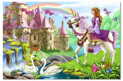 Melissa and Doug Floor Puzzles - Fairy Tale Castle