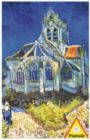 Van Gogh: The Church at Auvers - 1000pc Jigsaw Puzzle by Piatnik