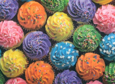 Cupcakes - 1000pc Jigsaw Puzzle by Great American Puzzle Factory