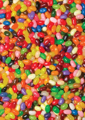 Jelly Beans - 1000pc Jigsaw Puzzle by Great American Puzzle Factory