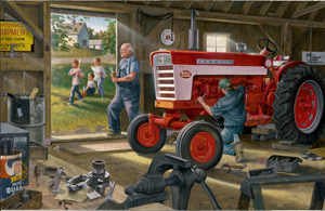 Farmall Red Power - 1000pc Jigsaw Puzzle by Great American Puzzle Factory