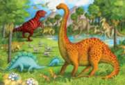 Dinosaur Pals - 24pc Super Sized Floor Puzzle by Ravensburger