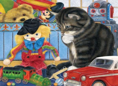 Kitty Playtime - 100pc Jigsaw Puzzle by Ravensburger