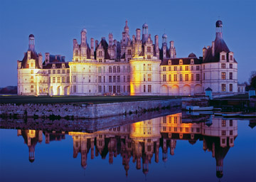 Loire Castle - 1000pc Jigsaw Puzzle by Ravensburger