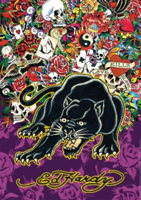 Ed Hardy: Black Panther - 1000pc Jigsaw Puzzle by Ravensburger