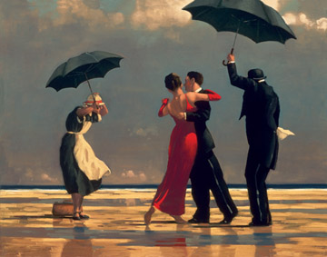 Jack Vettriano: The Singing Butler - 1000pc Jigsaw Puzzle by Ravensburger