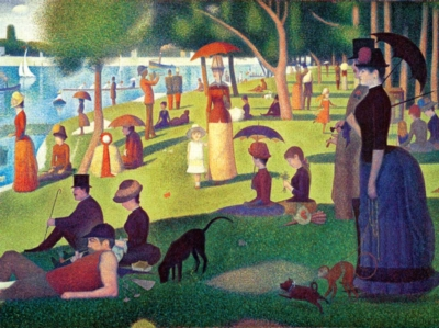Seurat: La Grande Jatte - 1000pc Jigsaw Puzzle by Buffalo Games