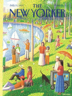 Sunday Afternoon in Central Park - 1000pc Jigsaw Puzzle by New York Puzzle Co.