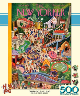 Children's Playland - 500pc Jigsaw Puzzle by New York Puzzle Co.