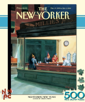 Jigsaw Puzzles - Nighthawks New Years