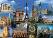 Educa Jigsaw Puzzles - Collage Europe