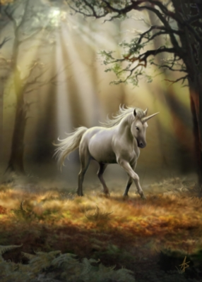 Educa Jigsaw Puzzles - Glimpse of a Unicorn