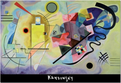 Vassily Kandinsky: Yellow Red Blue - 1000pc Jigsaw Puzzle by EDUCA