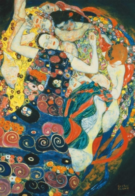 Gustav Klimt: The Maiden - 1500pc Jigsaw Puzzle by Educa